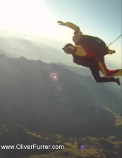 tandem skydive in freefall