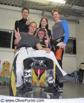 PULSEteam, indoor skydive, ready to fly