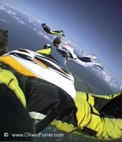 wingsuit cross the vulcano training
